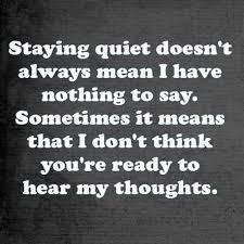Quotes quiet