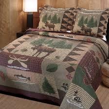 Amazon.com: Greenland Home Moose Lodge Quilt Set, Full/Queen: Home ... & Amazon.com: Greenland Home Moose Lodge Quilt Set, Full/Queen: Home & Kitchen Adamdwight.com