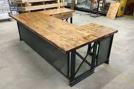 idea office furniture. Photo 2 Of 5 Industrial Office Desks Idea #3 Furniture U Shape Executive Carruca Desk A