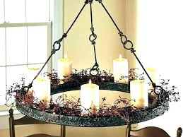 linear candle chandelier metal candle covers candle chandelier home depot 5 light black gilded iron linear