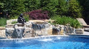 inground pools with waterfalls and slides. Inground Pools With Waterfalls And Slides G