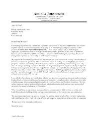 Executive Cover Letters Executive Cover Letters Samples Under Fontanacountryinn Com