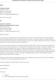 Library Assistant Cover Letter No Experience Layout For Library