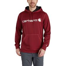 Carhartt Mens Jacket Size Chart Carhartt Mens Force Extremes Signature Graphic Hooded Sweatshirt