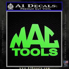 mac tools logo. mac tools vinyl decal sticker arc lime green 120x120 logo t