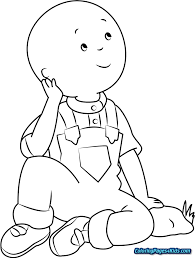 Free Printable Caillou Coloring Pages Free Printable Coloring Pages