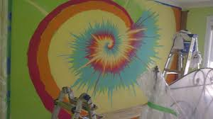 ... 1456 pixels. Significant Art tie dye design fresco in-progress  How to  paint ...