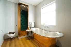 collect this idea warm metal bathroom freshome23