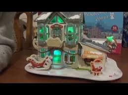 3D <b>Рождественский домик</b> - YouTube