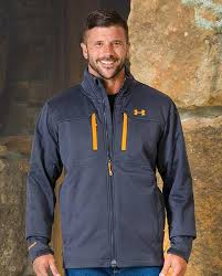 under armour mens winter jackets. under armour men\u0027s gray storm coldgear infrared softershell jacket mens winter jackets j