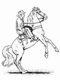 Cowboy Coloring Cowboy Coloring Pages For