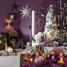 Of Living Rooms Decorated For Christmas Christmas Living Room Decorating Ideas Home Amazing Small Purple