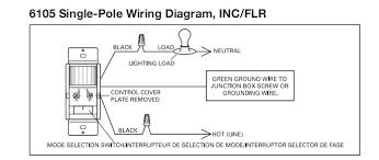 cooper 6105 wiring diagram conflicts terry love plumbing Motion Sensor Light Switch Wiring Diagram the white wire should have been marked with a black mark or piece of electrical tape when it was originally installed to mark it is being hot motion sensor light switch circuit diagram
