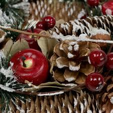 Seidenblumen Und Tannen Für Winterdeko Preiswert Online Kaufen