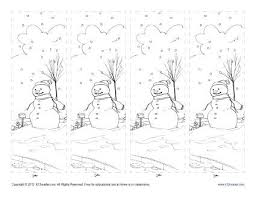On this page you'll find a variety of printable bookmark designs. Free Printable Bookmark For Kids Color The Winter Season