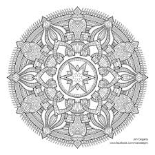 Small Picture Mandala Coloring Book Jim Gogarty Coloring Pages