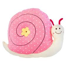 Cute <b>Snail Shape</b> Plush Throw Pillow Seat Cushion Soft <b>Kids</b> Doll ...