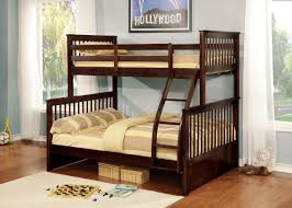 US Tamex 4522811 Paloma Espresso Twin Full Bunk Bed With 2 ...
