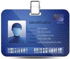Photo Id Template Free Download Editable Id Card Template Free Download Name Card Templates Data