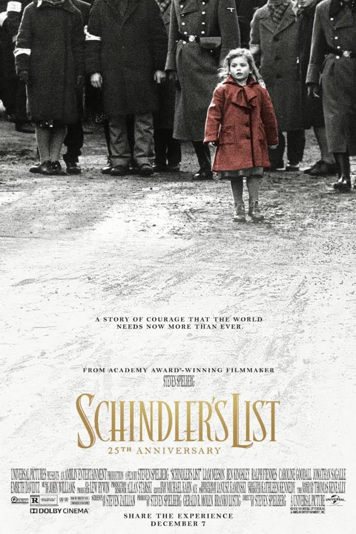 Schindler's List (1993) Dual Audio {Hindi-English} 480p | 720p | 1080p