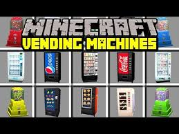 Minecraft Vending Machine Mod Custom Minecraft Vending