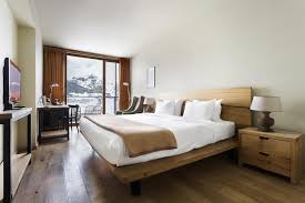a bed or beds in a room at rooms hotel kazbegi