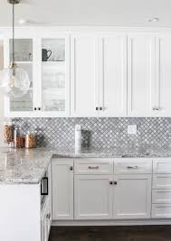 White Transitional Kitchens White Transitional Kitchen Reveal Prink And Preen