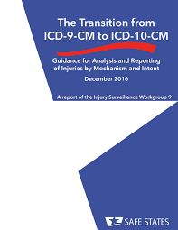 pdf the transition from icd 9 cm to icd 10 cm guidance for reporting of injuries by mechanism and intent
