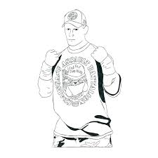 Free Printable Coloring Pages For Kids Wwe Color Print Wrestling