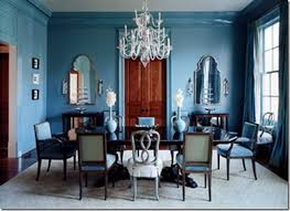 blue dining rooms. peacock blue dining room domino rooms