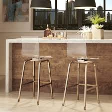 contemporary bar furniture. inspire q miles clear acrylic swivel bar stools set of 2 contemporary furniture r