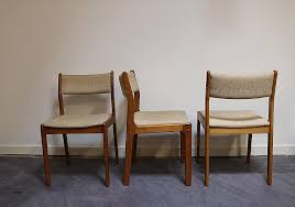 how much does it cost to reupholster dining room chairs elegant vintage dining chairs by erik