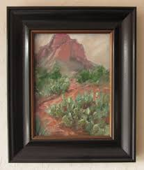 12x9 pastel framed with readymade frame museum glass no mat plus spacer