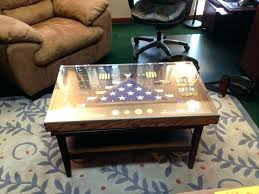 shadow box coffee table display ideas fabulous recommendations military shadowbox end new