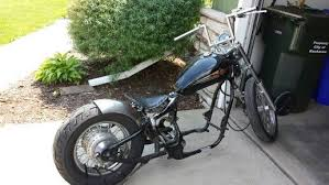 seat and rear fender mounted honda shadow bobber build