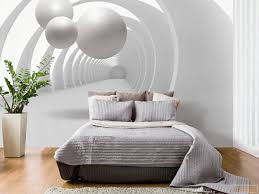 Schlafzimmer Innenraum Mit Fototapeten