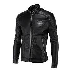 whole spring leather jackets men black biker jackets men quilting shoulder vintage rivets badge patch motorcycle jackets and coats 5xl spring leather