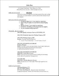 Sample Machinist Resumes Resume For Machinist Machinist Resume Objective Top Rated Resume For