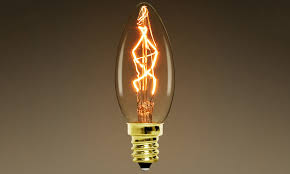 c35 z shape e14 carbon filament chandelier edison bulbs