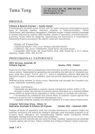 resume template for experienced professional resume sample of .
