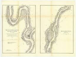 Missouri River Depth Chart Amazon Com C 1865 24 X 32 Reprinted Old Nautical Chart