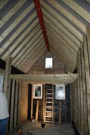 tiny house with garage. mezzanine floor tiny house with garage
