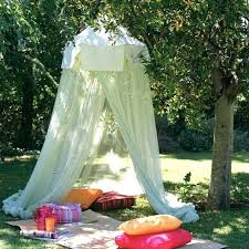 diy outdoor canopy romantic outdoor canopies and tents made with mosquito nets and fabrics summer decorating diy outdoor canopy