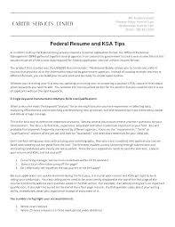 Federal Government Resume Format Cool How To Write A Federal Government Resume Template Modern Format