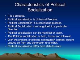 political socialization ppt characteristics of political socialization