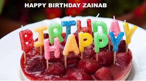 Zainab Cakes Happy Birthday Zainab Youtube