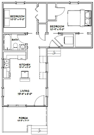 Tiny houses 644 sq ft make smaller bedroom closet bathroom stack w d enlarge existing room to outside wall make arced patio between living bedroom