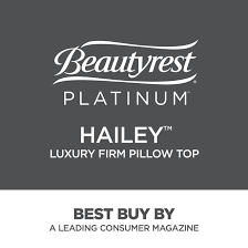 Beautyrest 700600384 1060 Platinum Hailey Luxury Firm King