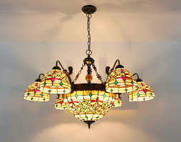 stained glass hanging light fixtures vintage stained glass hanging