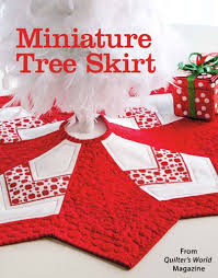154 best Quilter's World Magazine images on Pinterest | Easy ... & Miniature Tree Skirt from the Winter 2014 issue of Quilter's World Magazine.  Order a digital Adamdwight.com